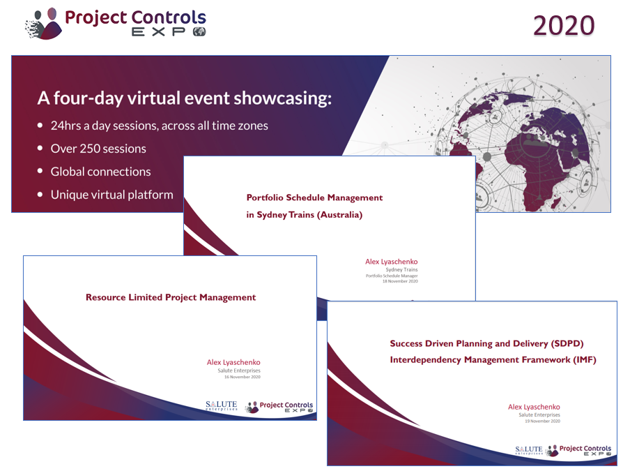 Project Controls Expo Virtual 2020