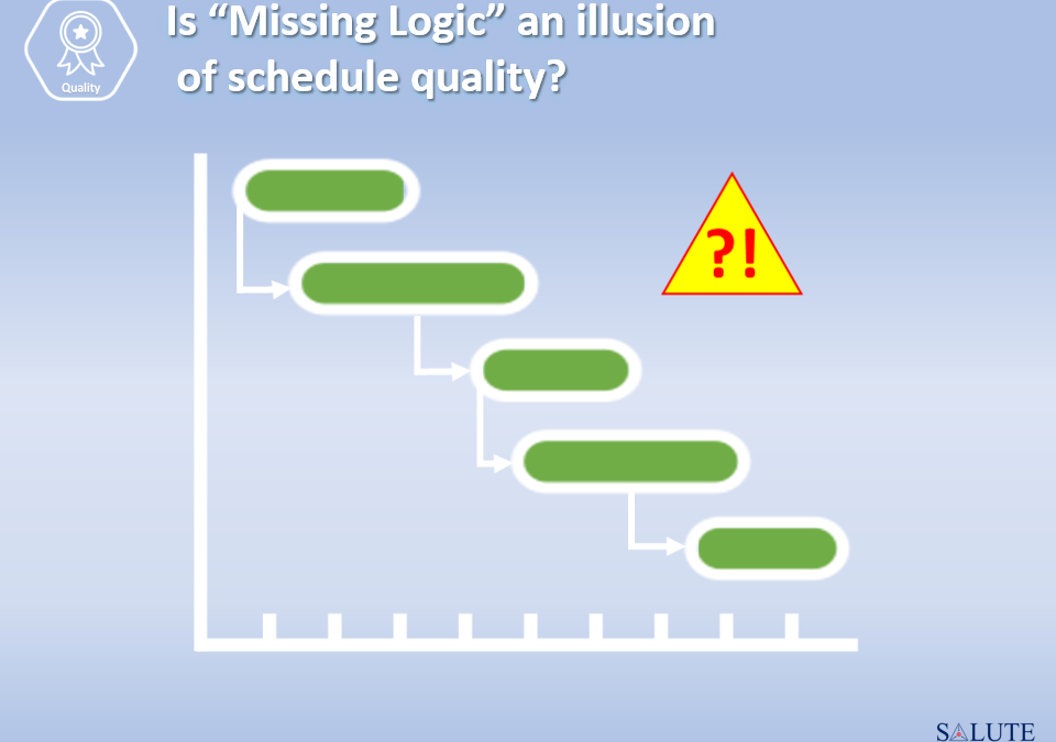 Is Missing Logic an illusion of schedule quality?